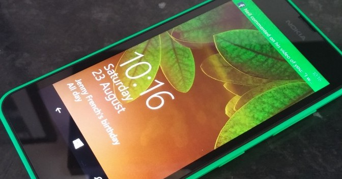 Nokia Lumia 630, your brightly coloured little friend