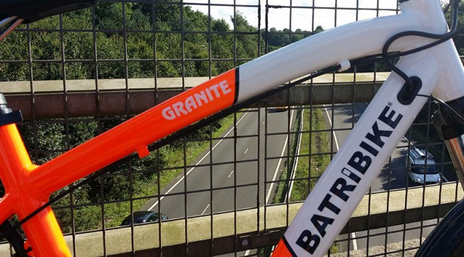 Batribike Granite Pro, two tone kerb appeal that throttles the competition
