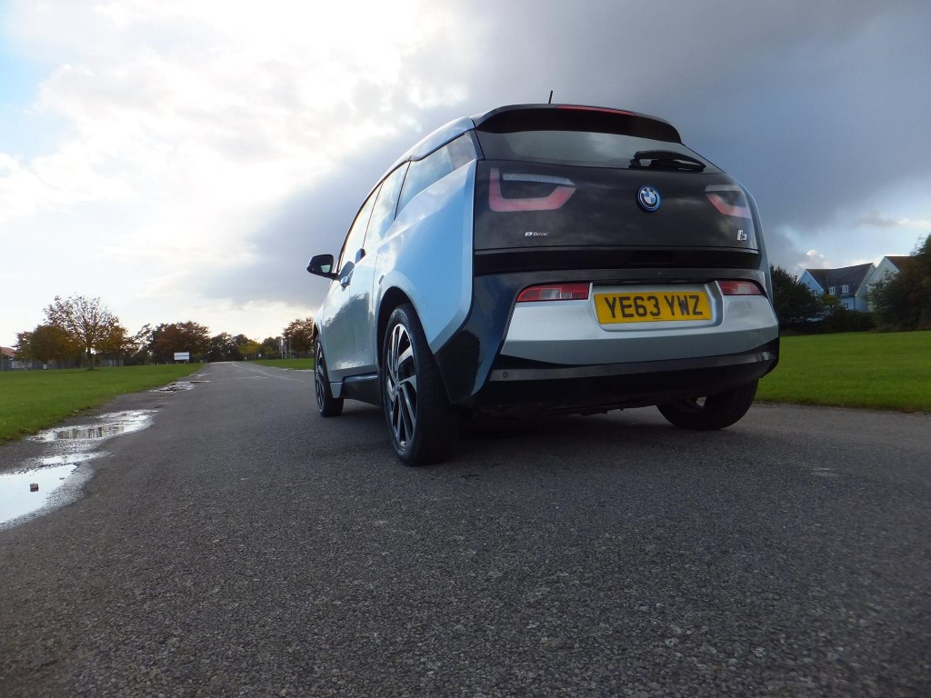 BMW i3 Rear View