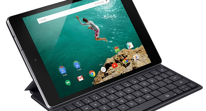 Nexus 9 is here, running Lollipop and it's built by HTC