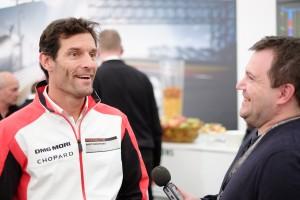 Porsche Motorsports and former Formula 1 driver, Mark Webber