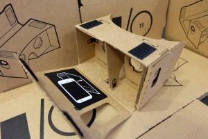 Google Cardboard V1 can be assembled in 6 steps