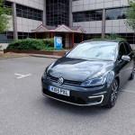 Volkswagen Golf GTE at Innovation Martlesham on Adastral Park