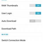 Transcend Wifi SD App