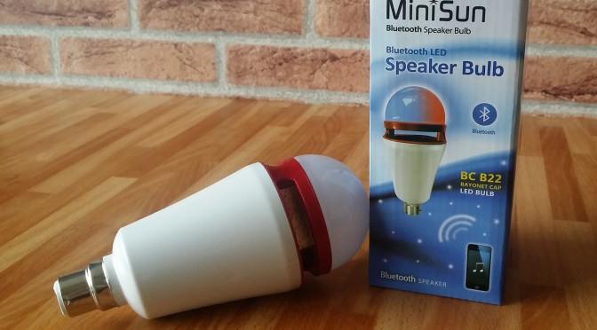 The Gadget Man – Episode 70 – MiniSun Bluetooth LED Colour Changing Speaker Bulb