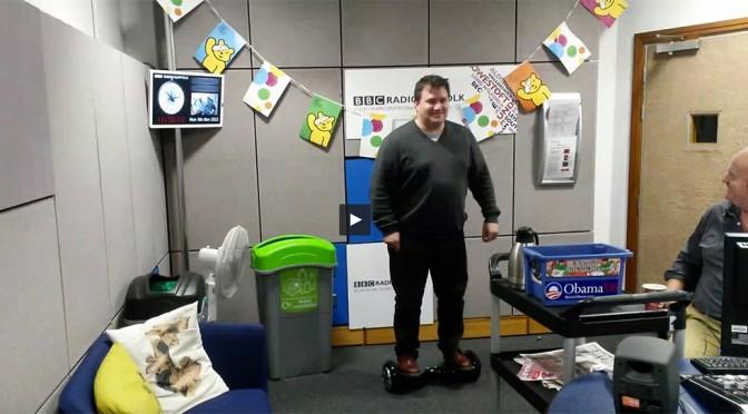 The Gadget Man – Episode 75 – Self balancing two wheeled board