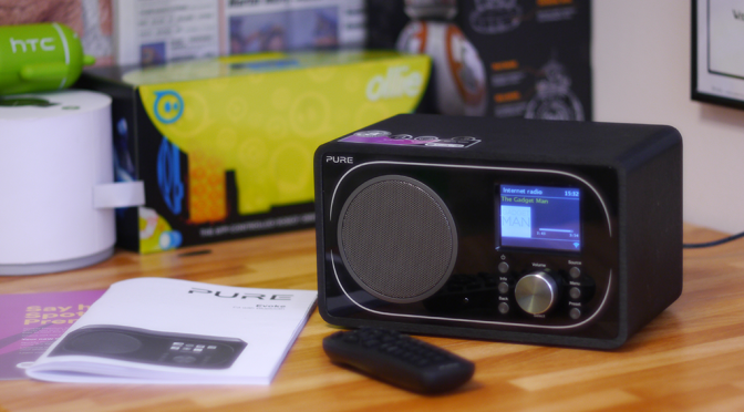 Pure Evoke F3 with Bluetooth, 25,000 radio stations at your fingertips!