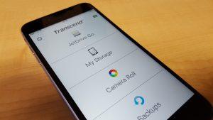 Transcend JetDrive Go 500 - Go App