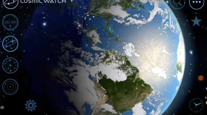 The Cosmic Watch – A Mesmerising & Beautiful App for Viewing the Cosmos