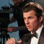Joey Barton Interviewed in the Green Room at Cross Sports Book Awards