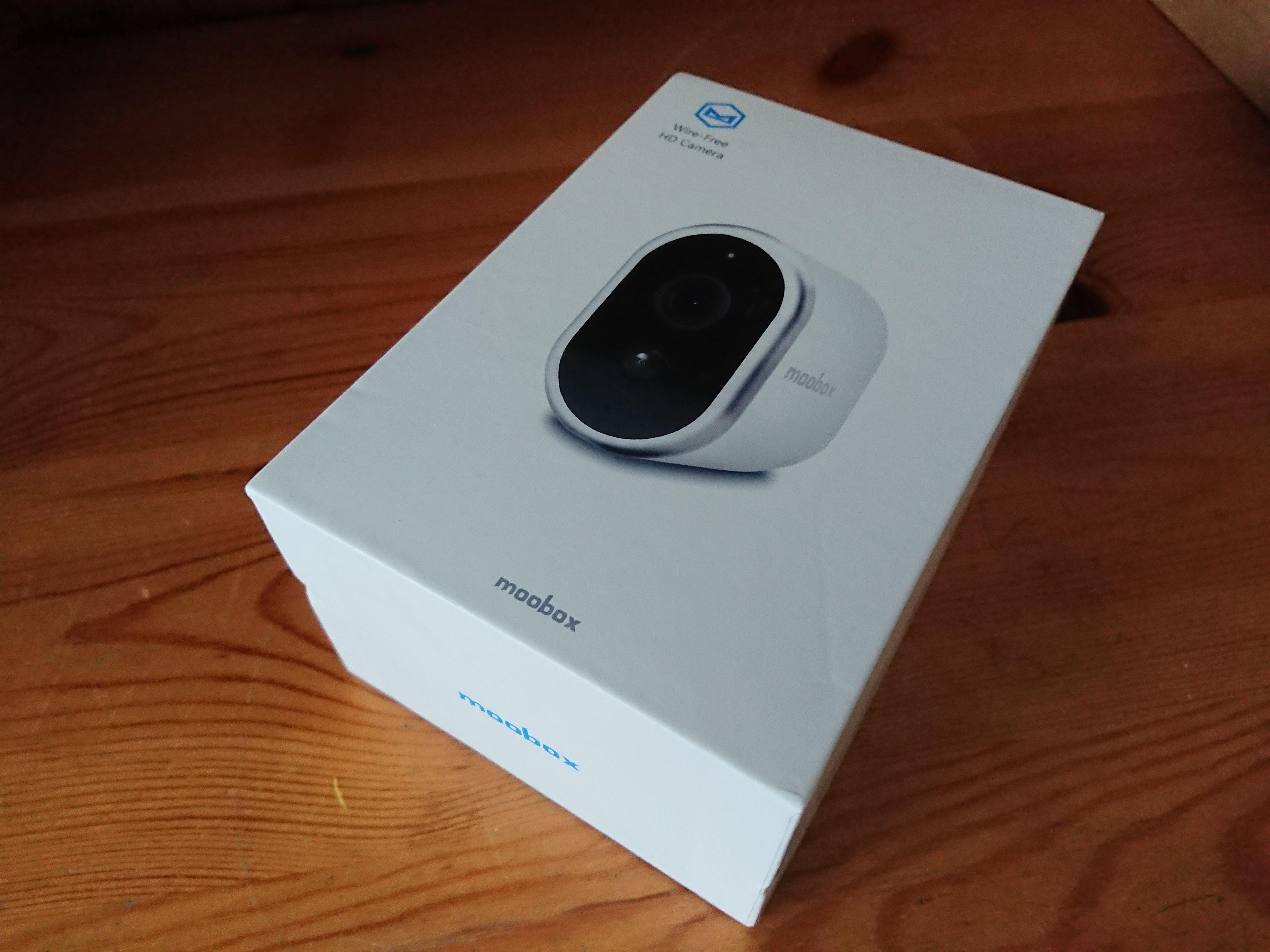 Moobox Camera in Box