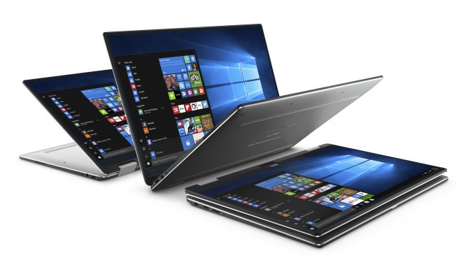 Dell XPS 13 2-in-1 with InfinityEdge Screen
