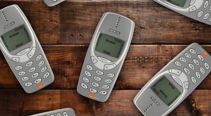 Many Nokia 3310 Handsets