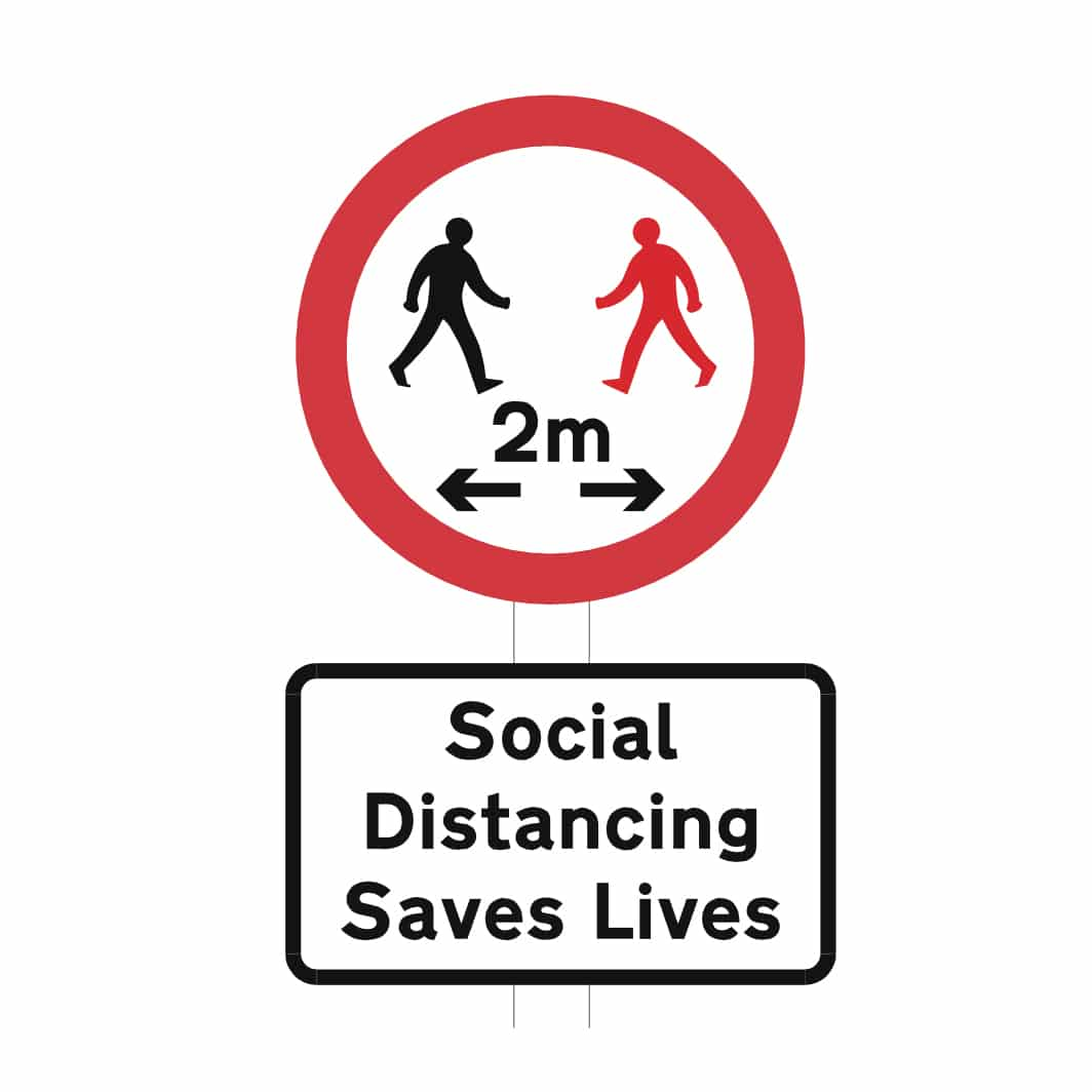 Social Distancing Saves Lives