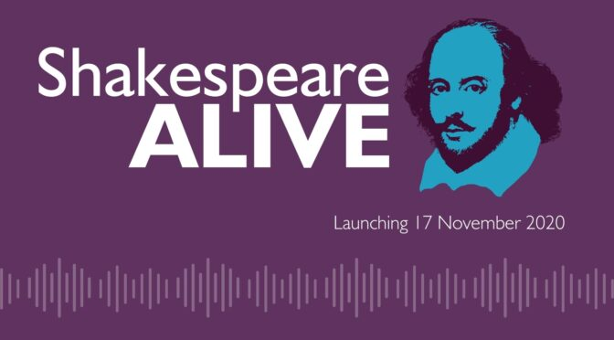 New Podcast Series explores Shakespeare's place in the 21st Century