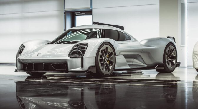 """Porsche Unseen"" provides a glimpse of unreleased concept cars"