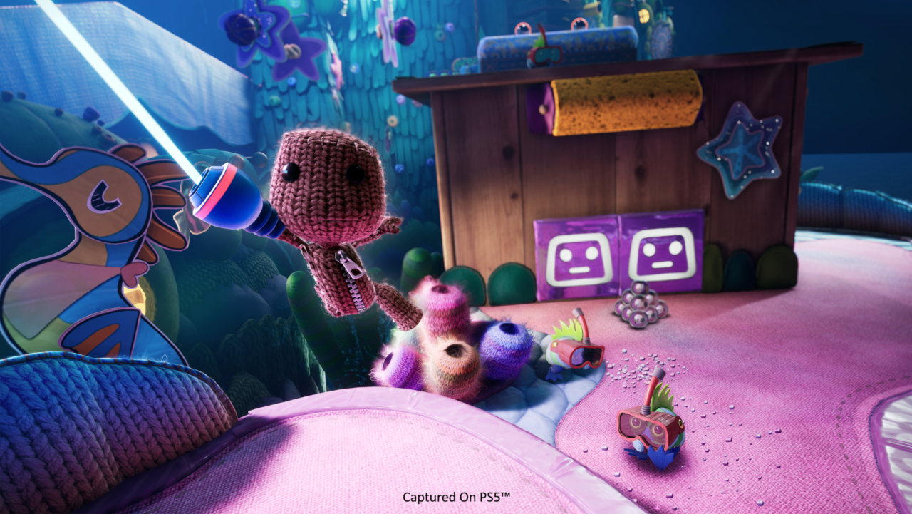 Sackboy on PS5