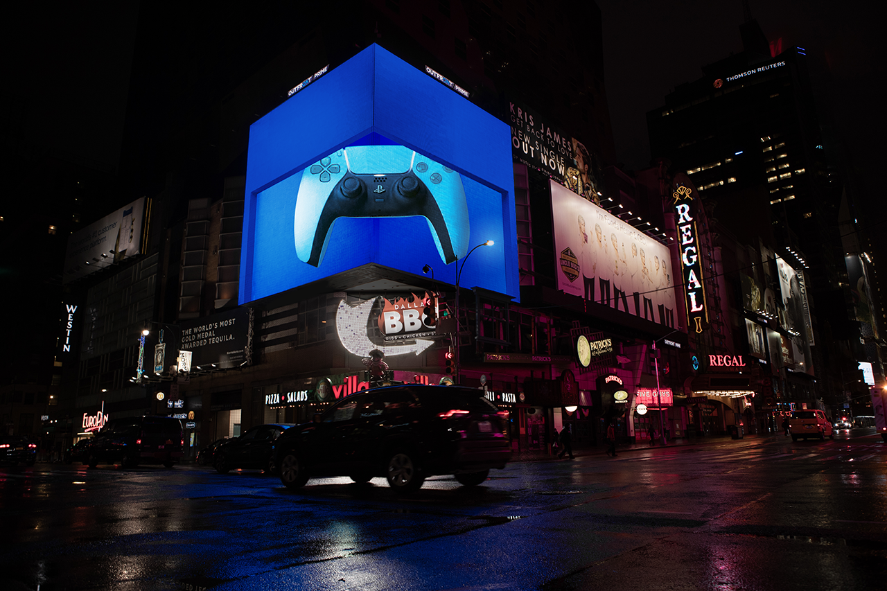Times Square - PS5 Launch