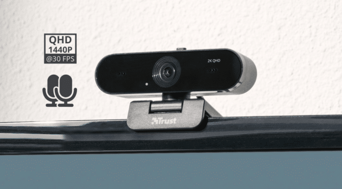 Trust launches the Taxon 2K QHD webcam with dual microphones, autofocus and an 80° wide angle lens