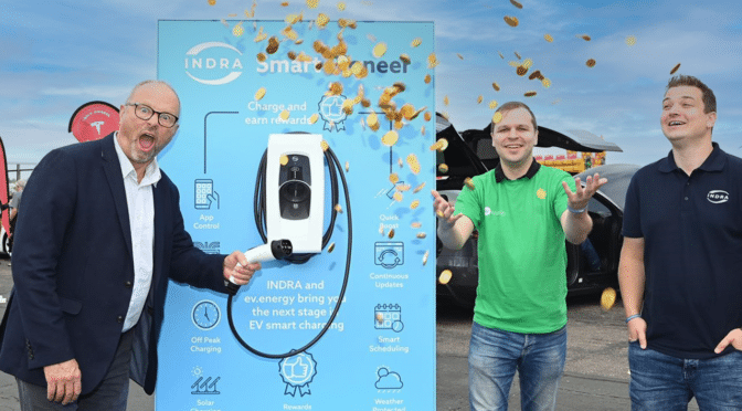 Cashing In: First Look at the EV Charger that gives you Rewards and Puts Your on the Road to Net Zero, Simply by Plugging In