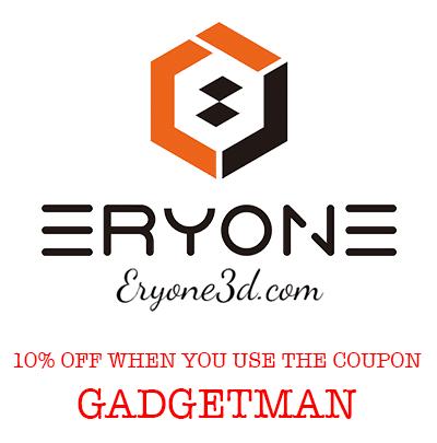 The Gadget Man recommends Eryone 3D Printer Filament
